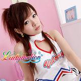 【Ladymotion】拜託!我是啦啦隊員,不是跳艷舞的啦!♥日系藍色女僕役♥ 角色扮演服