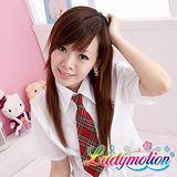 【Ladymotion】先生!我不記得我認識你耶!♥日系花格子俏皮女高生♥女高生水手服