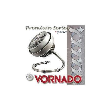 VORNADO 灰鸚 渦流空氣循環機 《 Premium Series 型號745C 》 銀灰色【13-15坪】