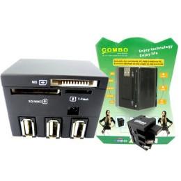 多功能USB Hub 讀卡機(USB2.0)