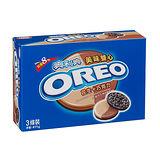 奧利奧OREO巧克力三明治餅乾-美味雙心花生巧克力411g