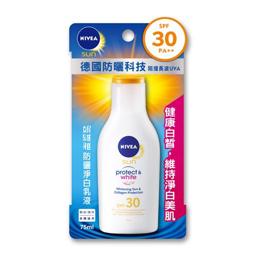 妮維雅Nivea防曬淨白乳液75ml^(SPF30PA ^)