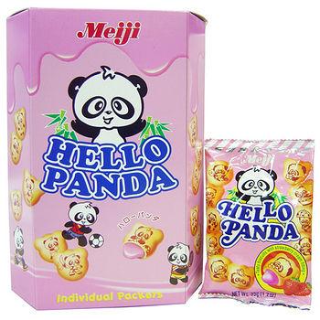 明治熊貓夾心餅-草莓口味175g