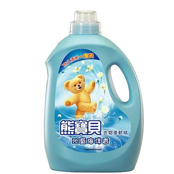 熊寶貝沁藍海洋香3.2L