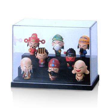 《玩具達人》13R公仔收藏盒3入組