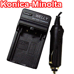 【WELLY】KONICA MINOLTA NP-800 相機快速充電器