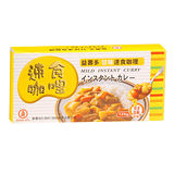 工研益壽多甘味速食咖哩125G/盒