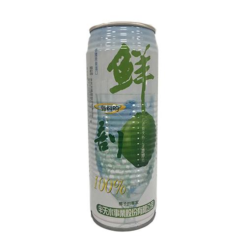 半天水鮮剖100^%有料椰子汁520ml^~3入