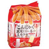 北田蒟蒻糙米卷-牛奶口味160g