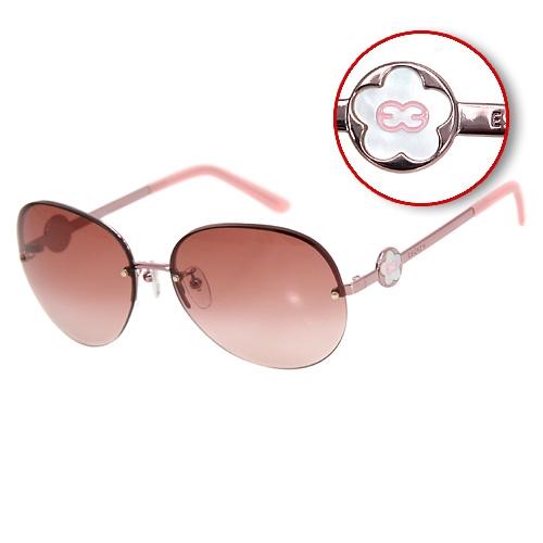 ESCADA 時尚太陽眼鏡 ( 漸層粉色 ) SES615-SBN
