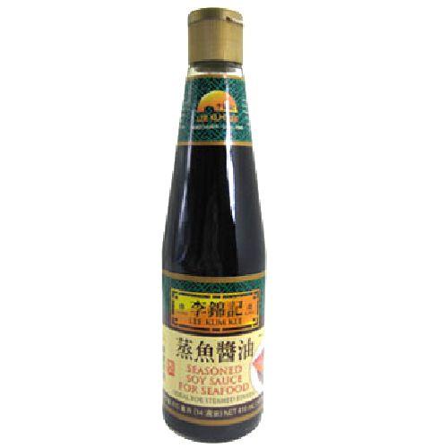 李錦記蒸魚醬油14OZ 410G 瓶