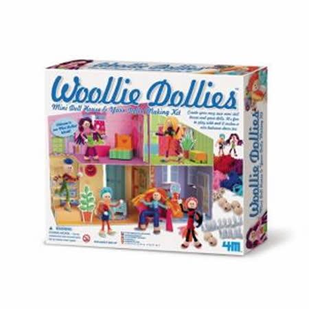 ( 任選 ) 毛線娃娃組合小屋