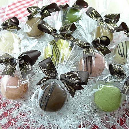 JOYCE巧克力工房【巧克力馬卡龍-單包裝】法國頂級馬卡龍、空運新鮮直送