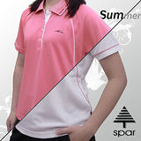 【名典-SAPR】女款 短袖POLO衫.吸濕排汗.纖細身型#30204.A
