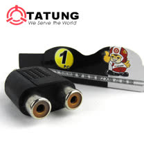 【TATUNG】耳機變換梅花插頭3入組TBAV-A408