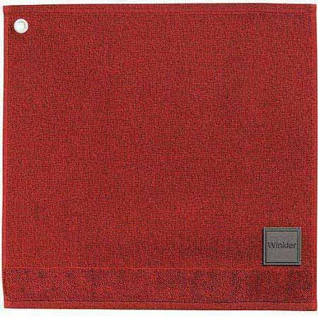 《WINKLER》50cm MARK 精梳棉毛巾(暖赭紅)