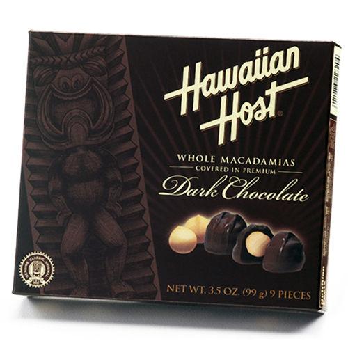Hawaiian Host 賀氏‧夏威夷全豆黑巧克力^(99g^)