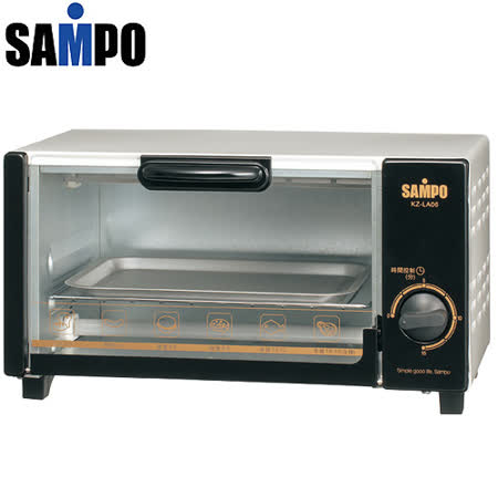 『SAMPO』☆聲寶-6L電烤箱 6L定時烤箱KZ-LA06 /KZLA06