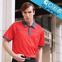 【瑞多仕-RATOPS】男款 布領POLO衫. 吸溼排汗纖維. 抗UV.透氣、抗菌、快乾#8342 A