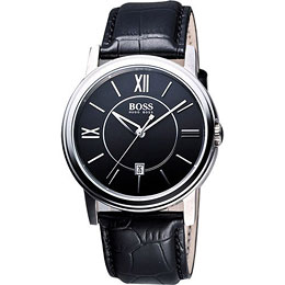 Hugo Boss 簡約都會石英腕錶(H1512389)
