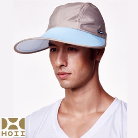 保證原廠【HOII】防曬【寬版棒球帽】UPF50+(藍光)【SUNSOUL后益先進光學】