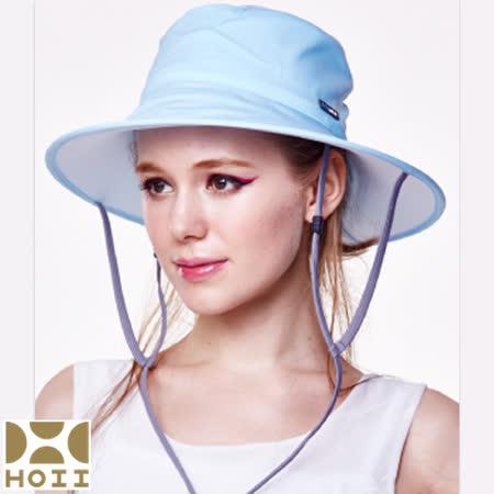 保證原廠【HOII】防曬【圓筒帽】UPF50+(藍光)SUNSOUL后益先進光學