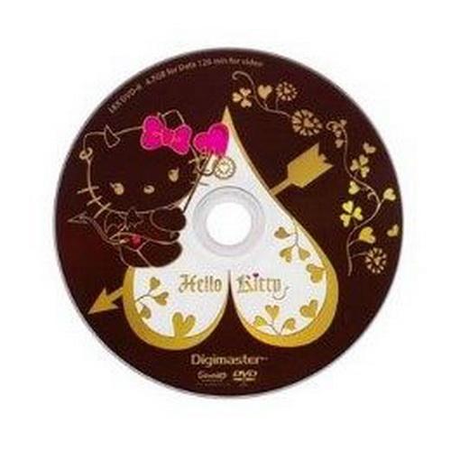 KITTY 淘氣惡魔版 DVD-R 16X燒錄片(25入)