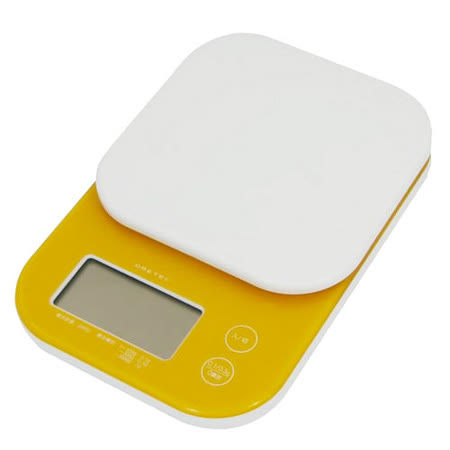 日本DRETEC微量電子秤(2kg)(橘)