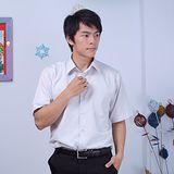 JIA HUEI 短袖男仕吸濕排汗防皺襯衫 灰色 [台灣製造]