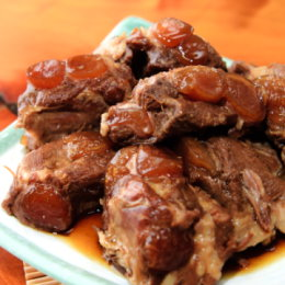 【新興四六一小吃店】紅燒軟骨肉+清燉軟骨肉-各1份(500G家庭號)含運