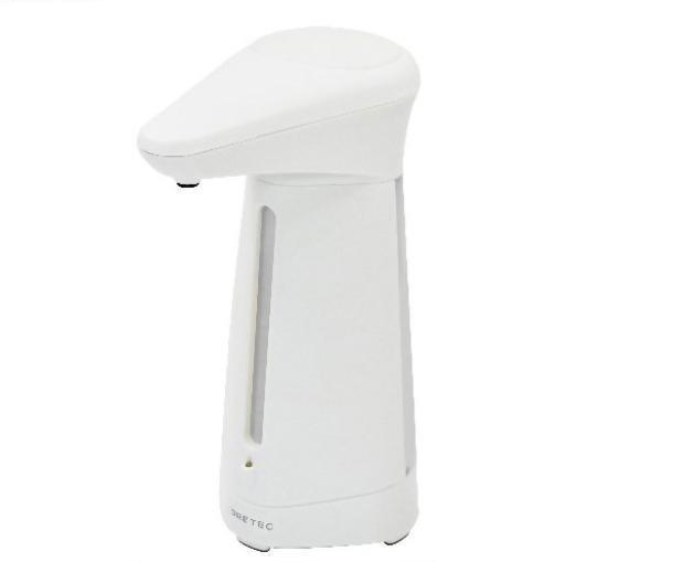 日本DRETEC電動感應手乳給皂機(白)