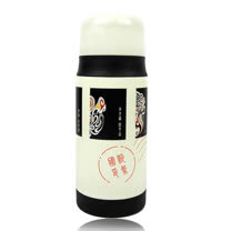 【SILWA】西華臉譜郵票真空保溫瓶(350ml)