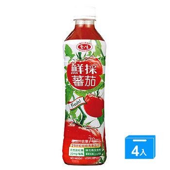 愛之味鮮採蕃茄綜合蔬菜汁540ML*4