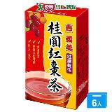 義美桂圓紅棗茶250ml*6入