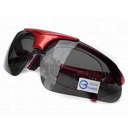 三合一 可拆式 偏光抗UV400太陽運動眼鏡/台灣製
