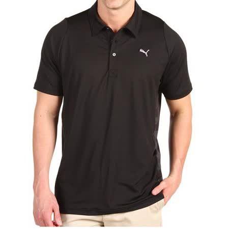 預購【Puma】彪馬黑色防紫外線Polo短衫