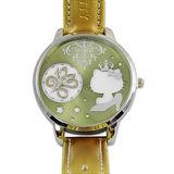 《Hello Kitty》進口時尚大錶面手錶-拜金女王-金