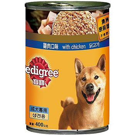 寶路狗罐頭-雞肉400g*24入(箱)