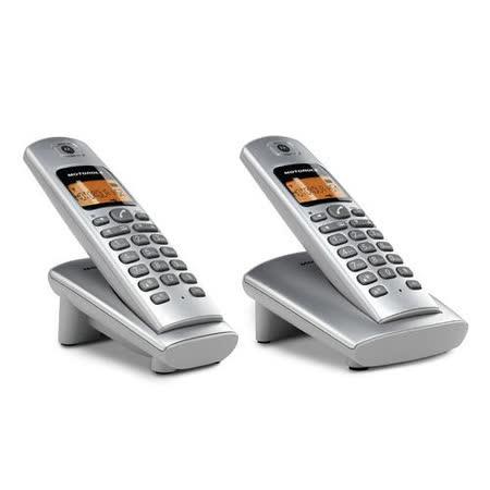 MOTOROLA DECT 双手機數位無線電話_ D402
