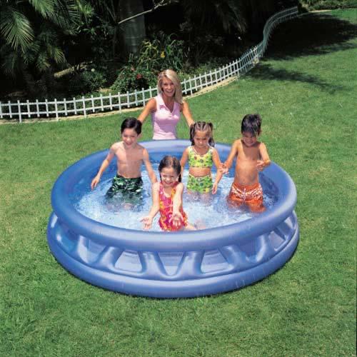 INTEX軟邊造型吹氣泳池(軟邊188cmx46cm)