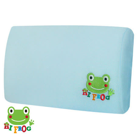 【Hifrog】台灣製造多用途高密度記憶午安枕/車頭枕-3M防蹣抗菌枕套