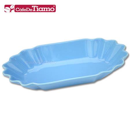 【勸敗】gohappy 線上快樂購CafeDeTiamo 陶瓷橢圓形生豆盤-天藍色*3入 (HG9286)有效嗎愛 買 衣服