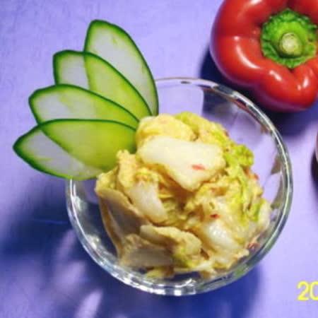 正宗【小潘】芽片泡菜6罐裝(芽片泡菜*2+海帶絲*2+青木瓜*2)(小辣)(含運)