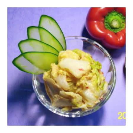 正宗【小潘】芽片泡菜2罐裝(芽片泡菜+青木瓜)(小辣)(含運)