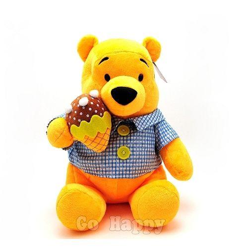 Disney迪士尼~小熊維尼吃冰淇淋~Pooh