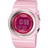 CASIO Baby-G 粉紅美人 運動錶BGD-100-4D粉色