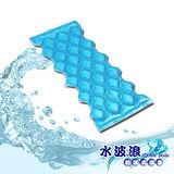 【水波浪】對流式水冷涼墊-M(JAS-011-M)~有效降低體感溫~環保~節能~舒適