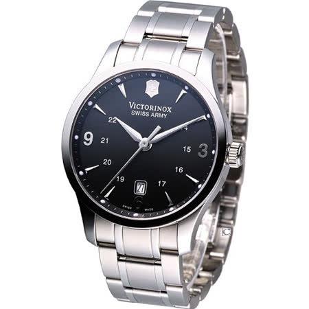 Victorinox Alliance 聯盟系列 紳士腕錶VISA-241473黑色