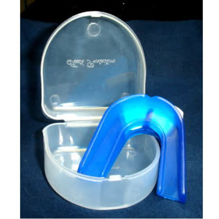 外銷歐美之防磨牙.大眾運動/雙層軟式護牙套(3牙套+3收納盒)