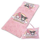 美樂蒂&酷洛米【友情萬歲】系列-鋪棉兩用睡袋(粉&紫)